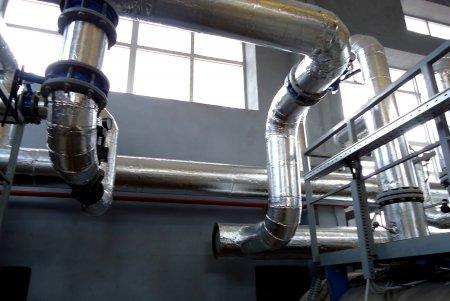 Теплоизоляция трубопроводов минераловатными цилиндрами