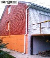 Жидкая теплоизоляция Броня Фасад – в 50 раз эффективнее минеральной ваты! Хотите утеплить фасад – просто покрасьте стены!