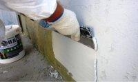 Шпаклевка теплоизоляционная,теплая штукатурка Броня Лайт, Шпаклевка, выравнивание и утепление стен - одновременно !