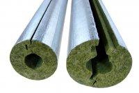 Минераловатные цилиндры Xotpipe SP Alu  (Хотпайп),  теплоизоляционные цилиндры кашированные фольгой,  для теплоизоляции труб и трубопроводов