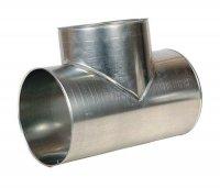 Оцинкованная оболочка, металлическая оболочка, окожушка для труб Xotpipe O ME - стальная оболочка, отводы металлические, тройники, переходы